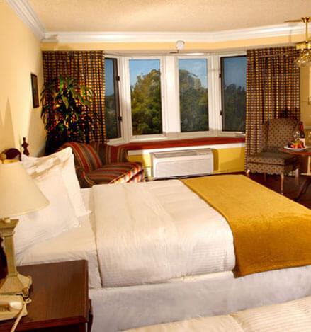 Rooms at Santa Maria Inn, California