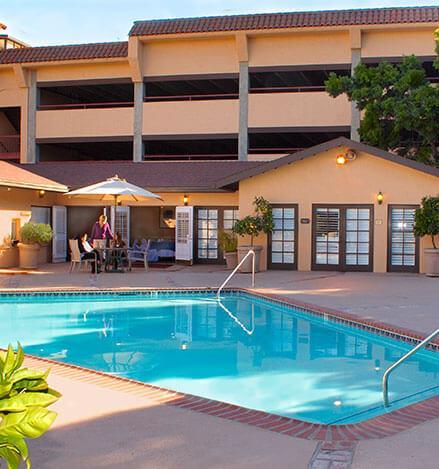 Santa Maria Inn, California Pool