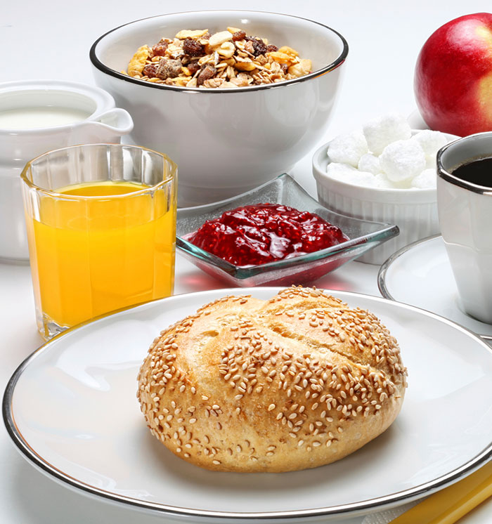 Bed and Breakfast Package at California Hotel