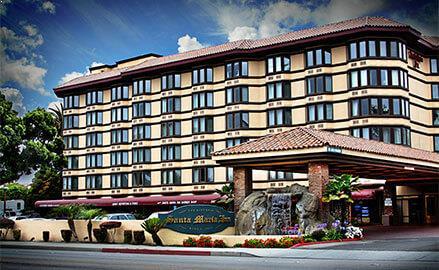 Historic Hotel at Santa Maria Inn, California